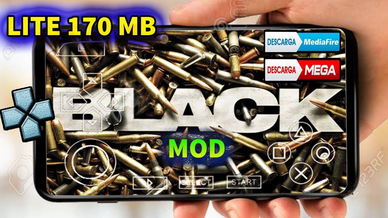 COMO INSTALAR BLACK PARA ANDROID/PPSSPP MOD CALL OF DUTY ROADS TO VICTORY